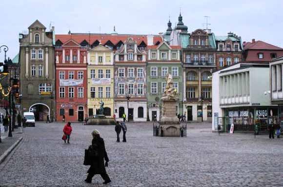 Poznan Poland's Central Square