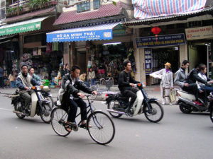 Two-Wheelers Thrive in Vietnam