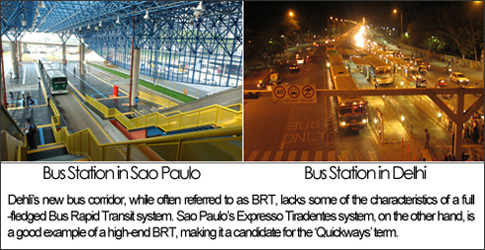 Busways vs. BRTs