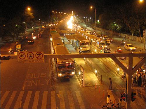 Delhi Busway