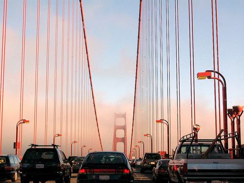 Bay Bridge traffic jam