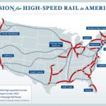 The government has identified 10 major high-speed rail corridors eligible for stimulus funding. Photo by the White House via About.com.