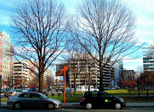 Zipcar launches pilot program to lease fleet management technology to D.C. government vehicles. Flickr photo by katmere.