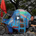 """Earth Bike"" Travels Through China"