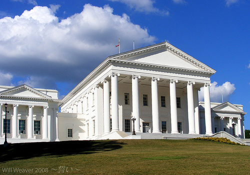 Virginia State Capitol. Photo by Synthetic Dreamer.