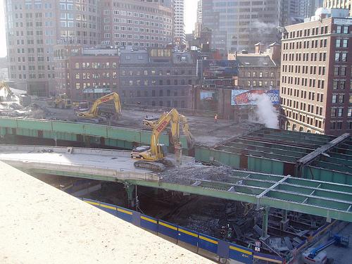 Boston's Big Dig. Flickr photo by cody_7147.