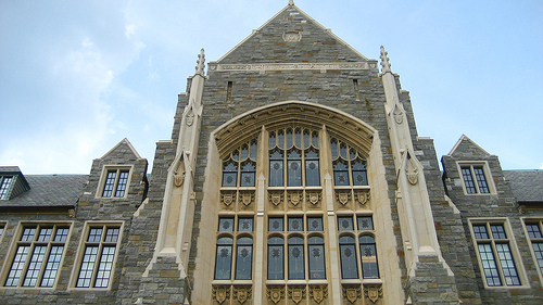 Georgetown University is the District's second-largest employer. Photo by Kyle Rush.