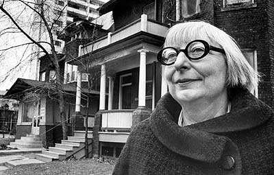 Jane Jacobs. Photo via http://eng10181.files.wordpress.com.