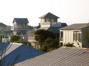 Seaside Florida: setting of the Truman Show and what the New Urbanism used to build. Flickr photo by Melanie M!