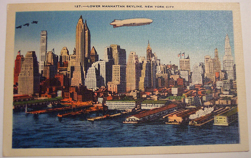 New York was doing well even when we had a zeppelin-based economy. Photo by riptheskull.