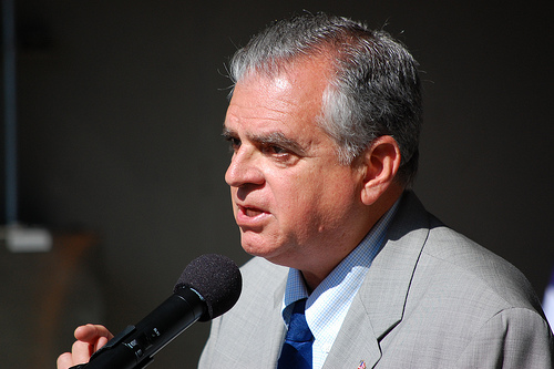 Secretary of Transportation Ray LaHood. Photo by Washington State Department of Transportation.