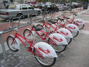 Imagine if SmartBike was paying you for your pedal power. Flickr photo by afagen.