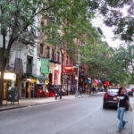 Macdougal Street in Greenwich Village. Photo by Valentinian.