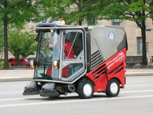 The Downtown BID isn't just good for creating WALL-E looking street sweepers. They're also the business communities chief advocates for urbanism. Photo by Mr. T in DC.