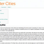 What Does it Mean to Be Smart? CityWiki Wants Your Input