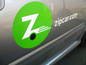 Hooray for Zipcar! Photo by Rakka.