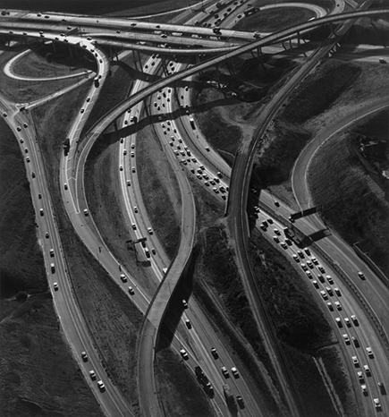 """Freeways"" by renowned American photographer Ansel Adams."
