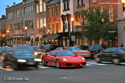 M Street in Georgetown Washington D.C.