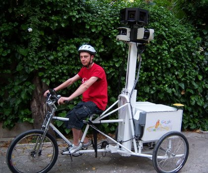 Google Trike promises to bring Google's popular Streetview to pedestrian envrionments.