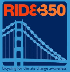 Via 350.org: Team Members in San Francisco have put together an epic 350 mile ride down the Northern California coast from Arcata all the way to the Golden Gate.