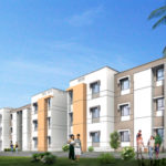 Rendering of Tata's Shubh Griha Housing Complex in Boisar, India