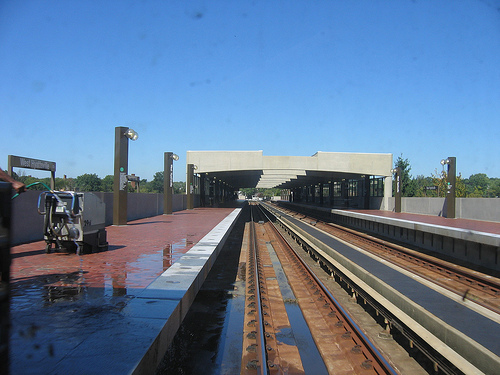 One of Prince George's many underutilized/underdeveloped metro stops. Flickr photo from tracktwentynine.