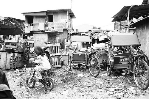 More than a quarter of Jakarta's population lives in slums. Flickr photo from Cak-cak.