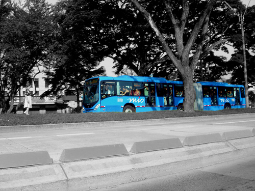 Cali's MIO changed the city's mass transit system. Photo by Manuel Vieda.