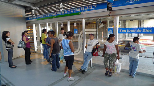 Following in Mexico City's footsteps, Guadalajara is changing the way people get around. Photo by itdp.