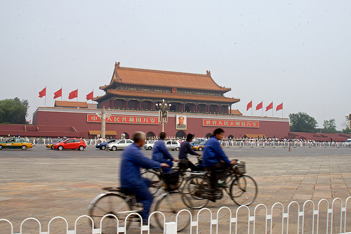 "To address continued air pollution and traffic congestion woes, Beijing is harkening back to its days as the ""bicycle kingdom"" and introducing policies to encourage more cycling. Photo by Dave-Gray."