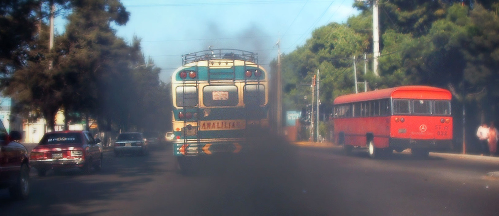 The transport sector is the fastest growing sector in terms of  greenhouse gas emissions in developing countries, but many of these  countries have no plans to address it in post-Copenhagen commitments.  Photo by destro100.