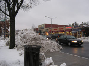 Speak out about the snow removal efforts in your neighborhood (shown here: Connecticut Avenue).  Photo: CathrynDC, flickr.
