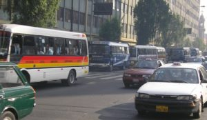 The transport sector is the fastest growing sector in terms of greenhouse gas emissions in developing countries, but many countries have no transport-related strategies planned in post-Copenhagen commitments. Photo by the author.