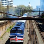 VRE trains are one of the options for Washington, DC