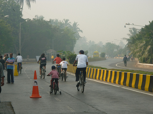 People of all ages could enjoy their streets without traffic. Photo by Madhav Pai.