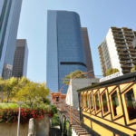 The historic Los Angeles funicular, known as Angels' Flight, is back in business after nine years.  Photo: racingbeat