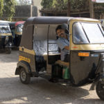 Auto rickshaw drivers, some of India's poorest citizens, are routinely taken advantage of by financiers.  Reforming the sector would address this important social equity concern as well as contribute to environmental and quality-of-life goals.  Photo: Dey.