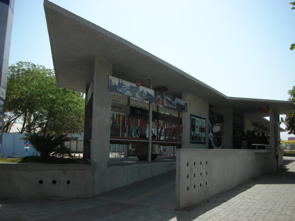 BRT terminal at Kankaria Lakefront. Photo by Prajna Rao.