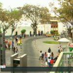 A screenshot from EMBARQ's video about pedestrianization in Arequipa, Peru.