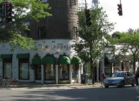 With smart and creative redevelopment, Long Island's historic downtowns, like this one in Southampton, can help confront the challenges faced by modern suburbia. Photo by dougtone.