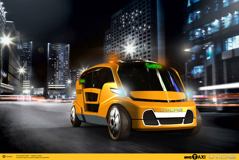 "The Unicab may be New York City's ""Taxi of Tomorrow"""