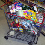 Stores Ditch Shopping Carts to Discourage Vehicle Use
