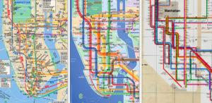 Mta Subway Map Washington Dc.New York S Iconic Subway Map Gets Makeover Thecityfix