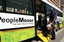 "Durban purchased 13 new ""People Mover"" buses with World Cup funds. Photo via durban.gov.za."