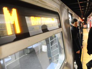 A plan to bring WiFi and cellular service to NYC's subway system is back on track. Photo via NY Daily News.