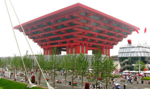 The China Pavilion at the 2010 World Expo: What does it say about the future of Chinese cities? Photo by lee_blake_somerset.