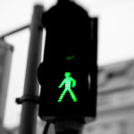Vienna may be one of the world's most livable cities, but the green men at its pedestrian crossings really leave something to be desired. Photo via spanout.