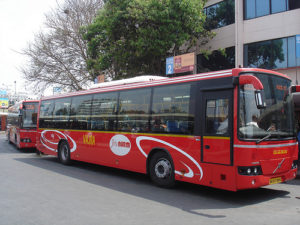 """Bus days"" on the 4th of every month and a Rs1,350 monthly unlimited-ride fare are encouraging more commuters to ride the city bus in Bangalore, India. Image via nitinr708."