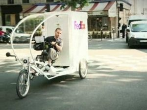 FedEx Makes More Efficient Deliveries with Zero Emissions Electric Bikes