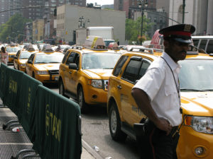 What will take the Crown Victoria's place in New York City's taxi fleet? Image via NPR.